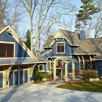 Pentwater Lake Cottage   Beach Style   Exterior   Grand Rapids   New Urban  Home Builders
