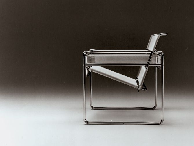 Wassily chair bauhaus marcel breuer ca 1925 for Wassily stuhl design analyse