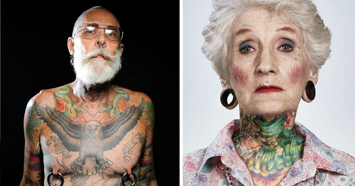 Photo of 41 Tattooed Seniors Answer The Eternal Question: How Will Your Ink Look When You're 60