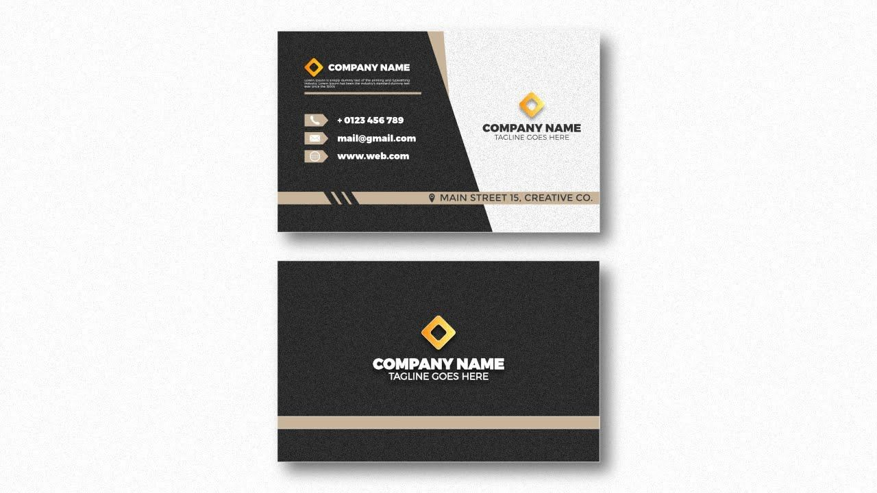 Double Sided Business Card Design In Affinity Designer Double Sided Business Cards Card Design Business Card Design