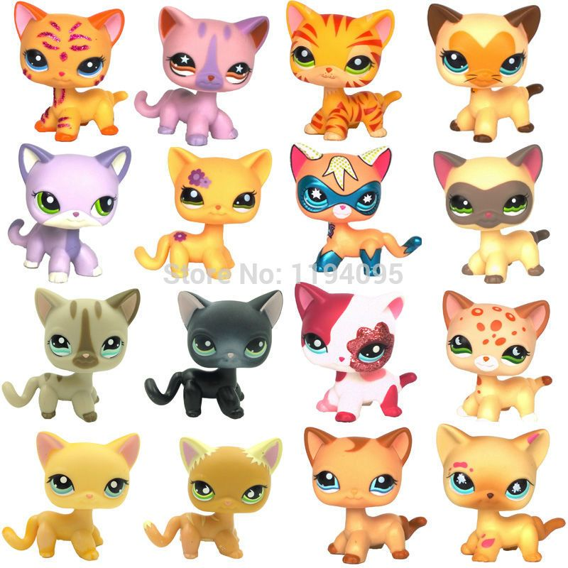 Click To Buy Lps Collections Cat Short Hair Kitty Rare Old