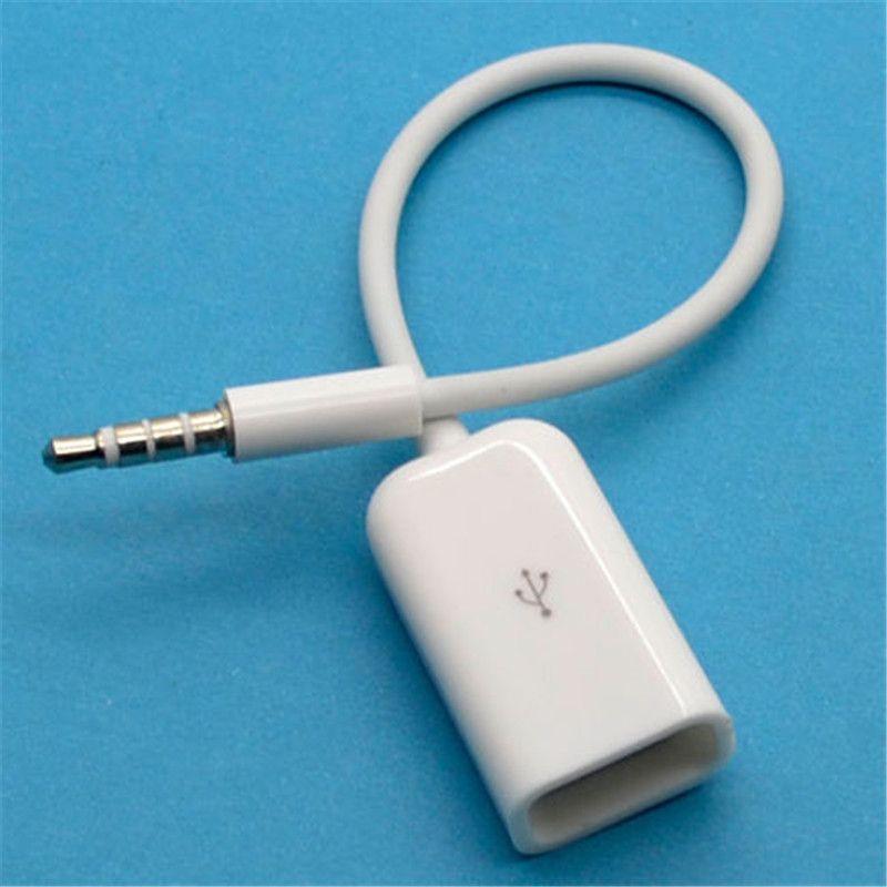 Hot Converter Cable Cord Car MP3 HM 3.5mm Male AUX Audio Plug Jack ...