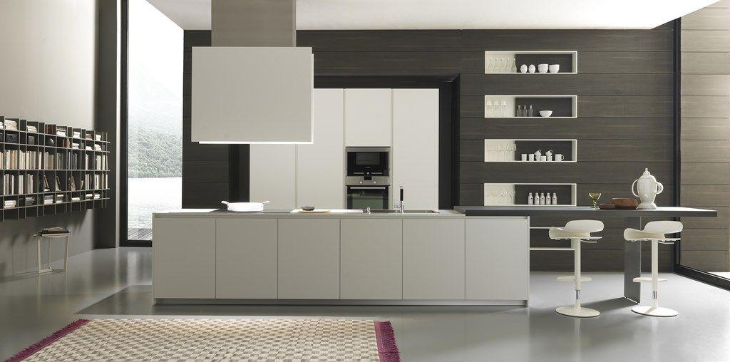 Cucina modulnova modello mh6 melaminico ardin for Latte arredamenti