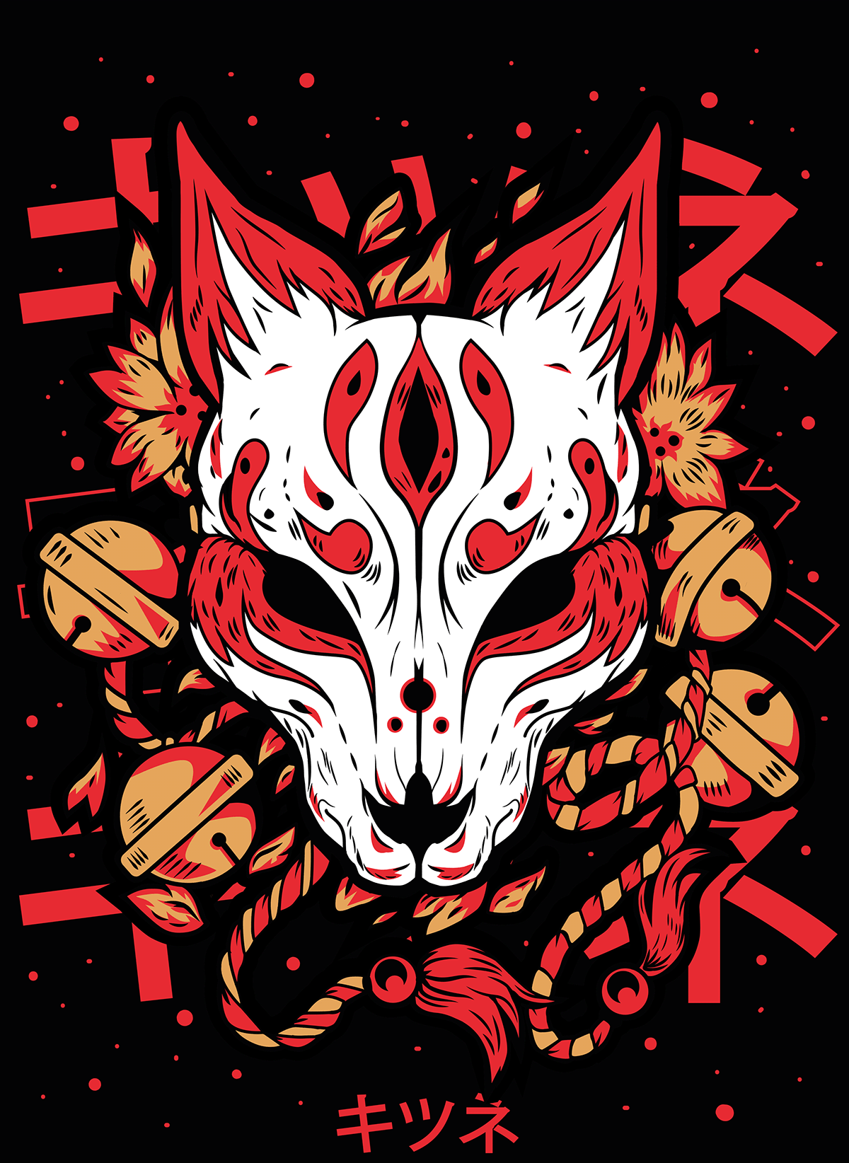 mascara kitsune