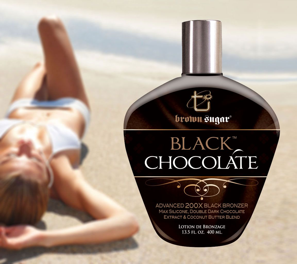 Black Chocolate 200x Tanning Bronzer Best Tanning Lotion