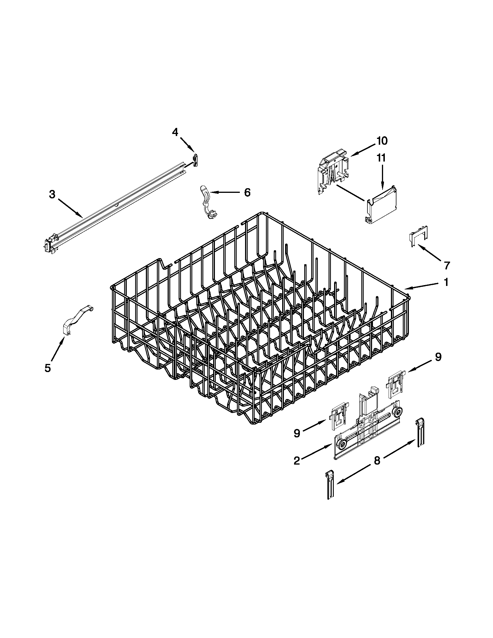 kenmore undercounter dishwasher parts