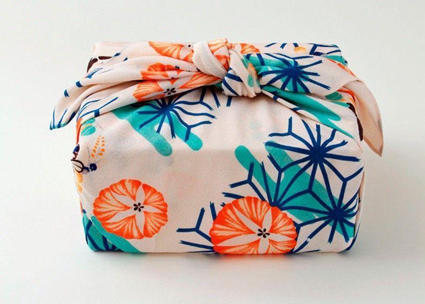 Le plus récent Absolument gratuit Emballage Cadeau maitresse Idées,Furoshiki, l'art du pac...
