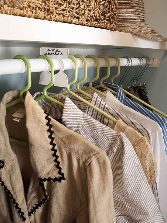 Use Garment Organizers To Separate Your Clothes Into Categories That Work For You Seasons Occasions Type Of Item Etc