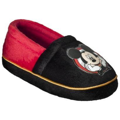Toddler Boy\'s Disney® Mickey Mouse Slipper - Black *Carter ...