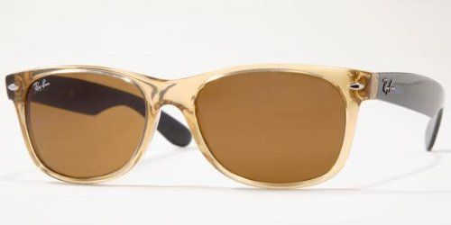 46b80fd816a Ray Ban RB2132 New Wayfarer Sunglasses - 945L Honey (B-15XLT Lens) - 55mm
