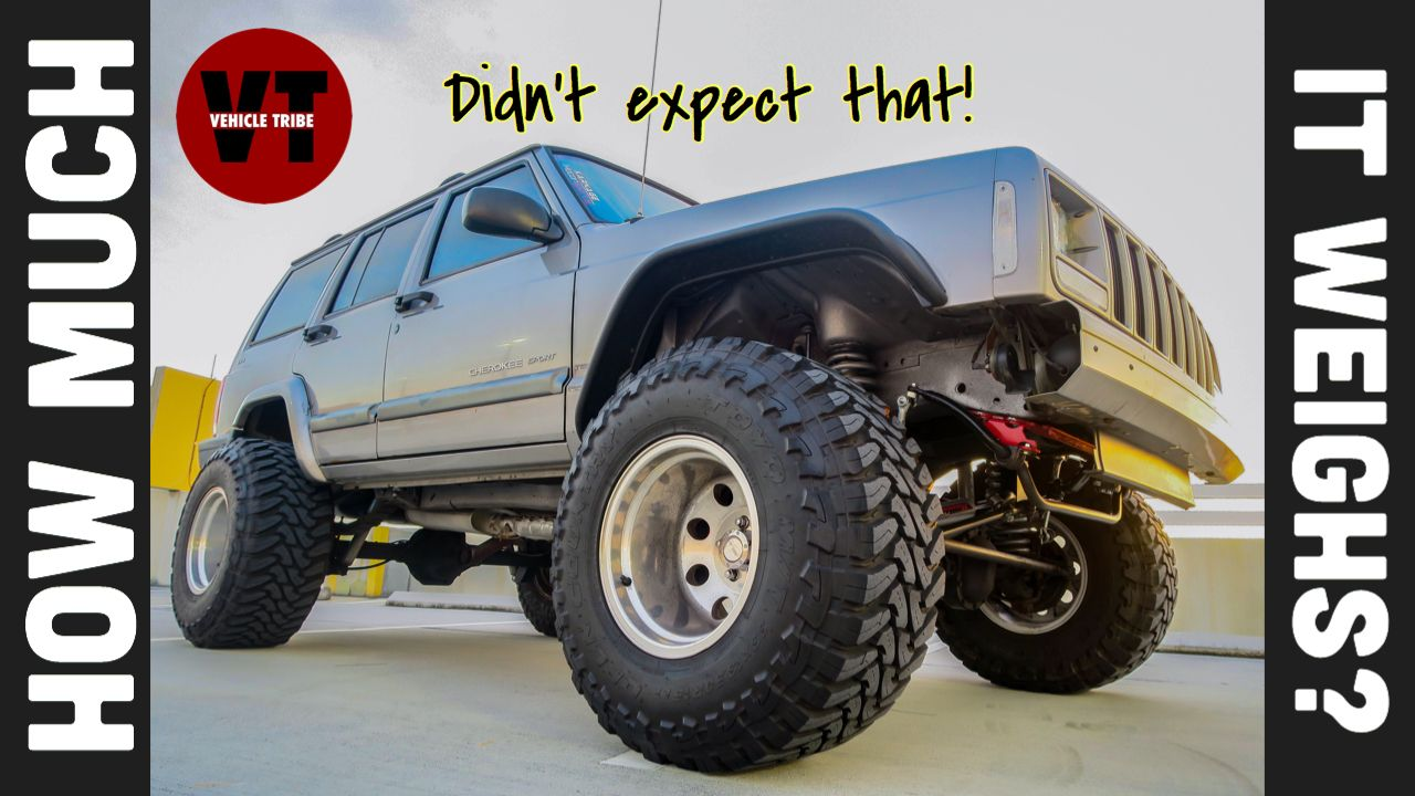 Want To Know How Much A Lifted Jeep Weighs See Full Video On