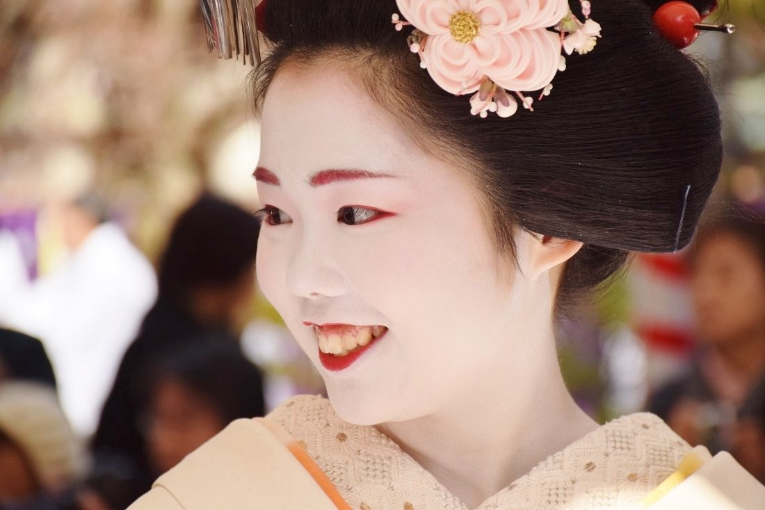 Baikasai 2015: maiko Ichimari - queen of beauty in Kamishichiken