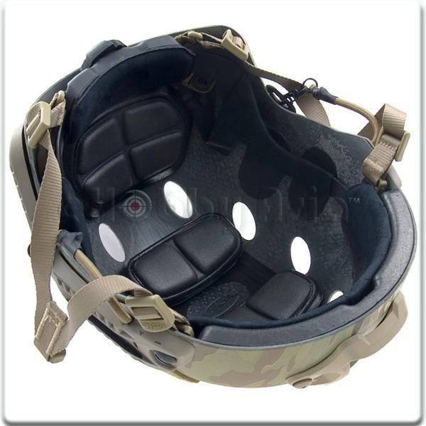Real Carbon Fiber Hard Hat: OPS-CORE FAST Bump Helmet