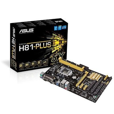Asus Placa Base H81-PLUS