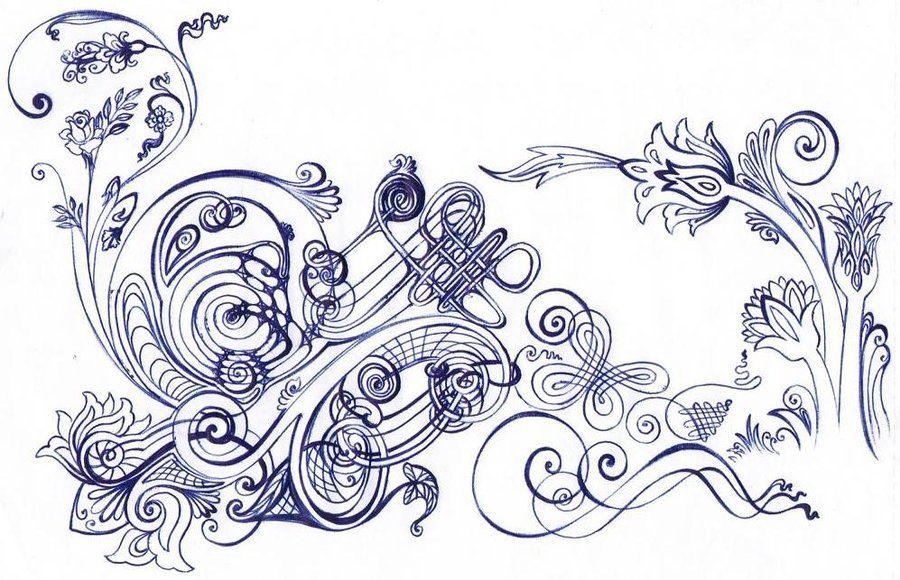 Celtic Khatai Flower By Amin Anim On DeviantArt