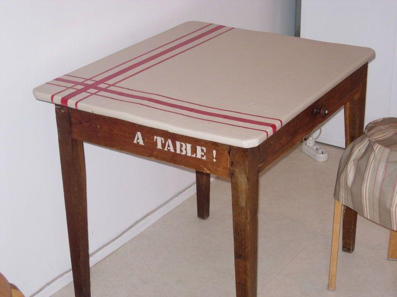 Table Suisine Apres Apres Photo De Relooking De Meubles Ou Objets Bobines Et Pinceaux Relooking Meuble Mobilier De Salon Relooking De Chaise