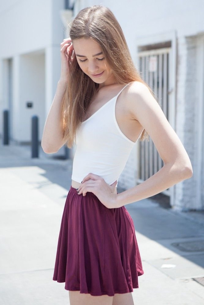 ea6aa21716 Brandy ♥ Melville | Riana Skirt - Clothing | Women's Fashion in ...