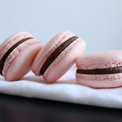 French Macarons with Chocolate Ganache
