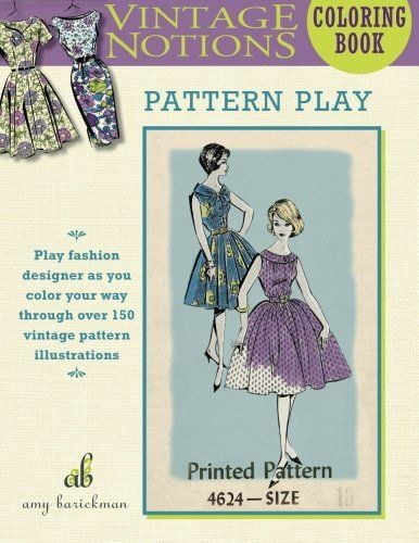 Vintage Notions Coloring Book: Pattern Play by Amy Barickman https://smile.amazon.com/dp/0692701737/ref=cm_sw_r_pi_dp_UUpxxbYT9G6FQ