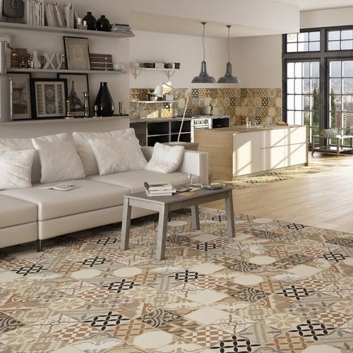 Moments Beige Mix Floor Tile