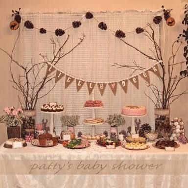 Rustic Baby Shower Food Table Baby Pinterest Baby Shower Foods