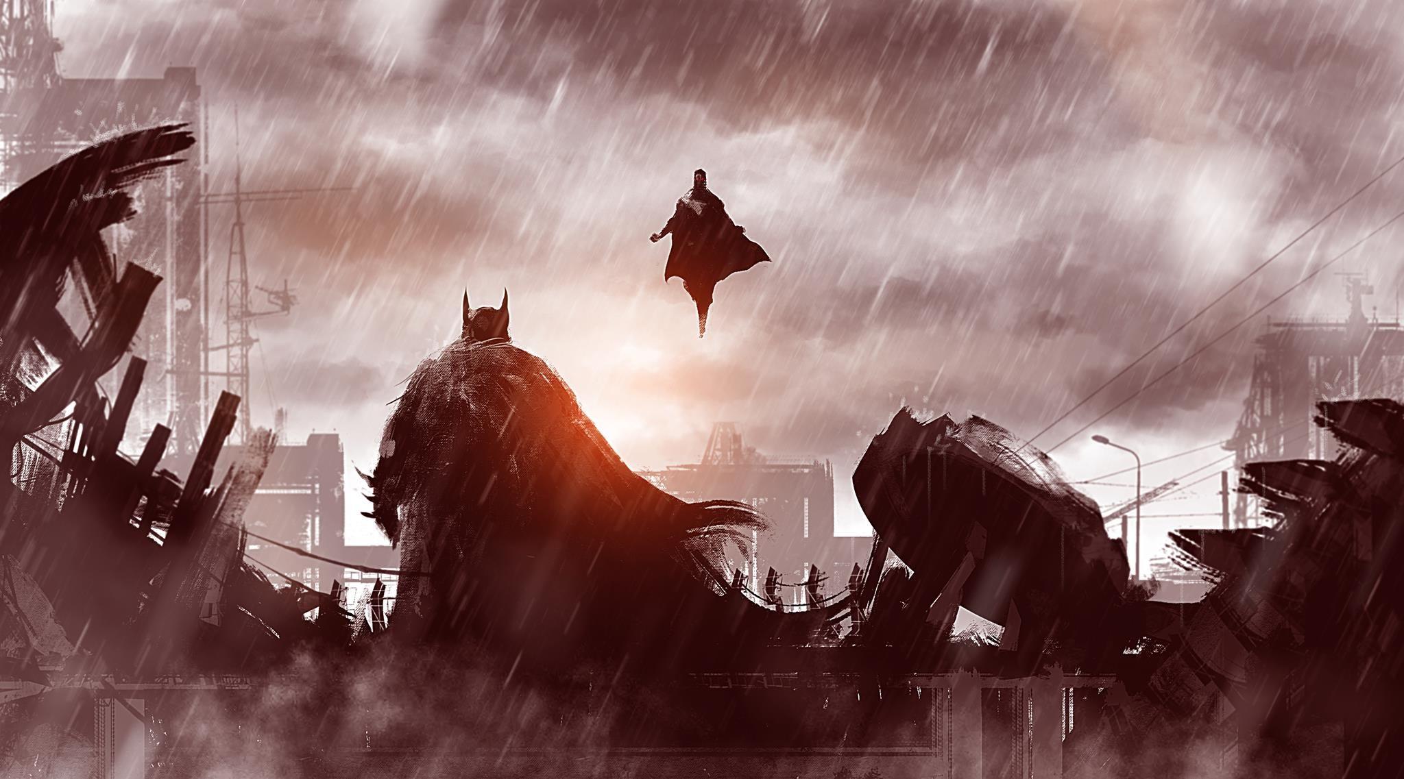 Batman V Superman Wallpaper Wide QIS