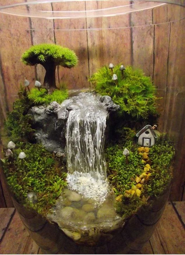 25 adorable miniature terrarium ideas for you to try for Creative garden design 805
