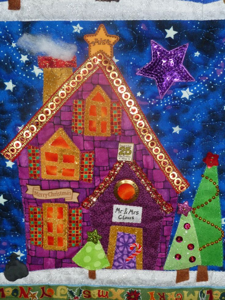 1000 Images About Christmas Quilts On