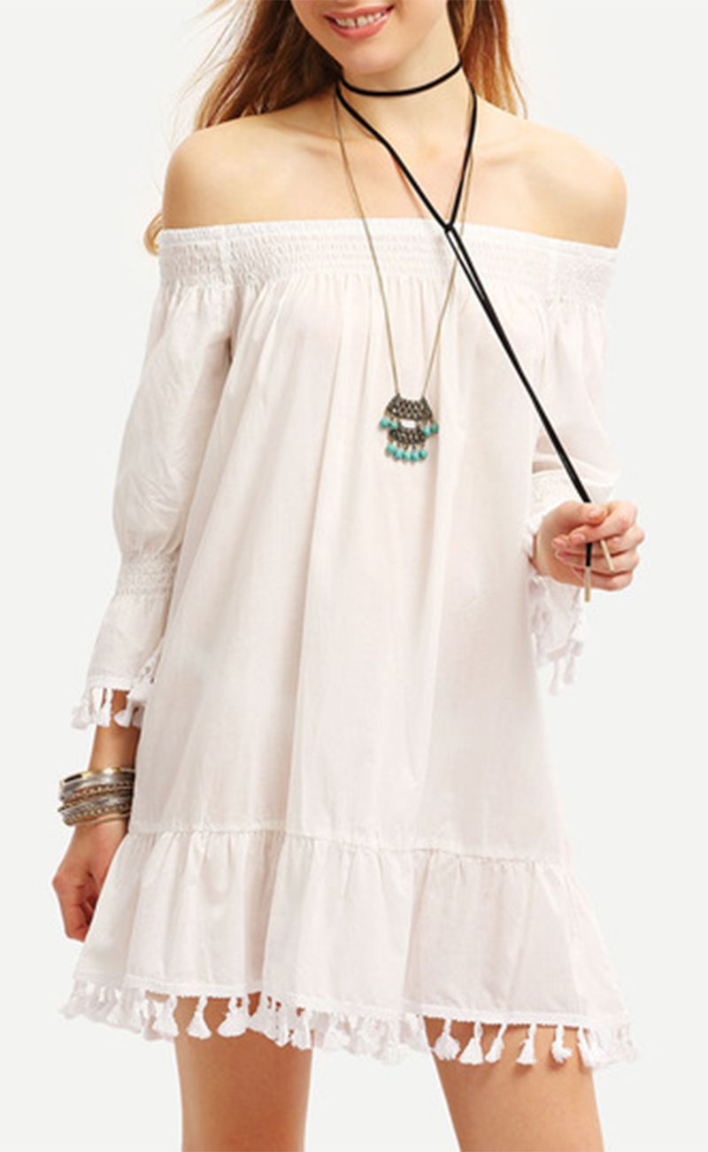 A good boho dress need great material and delicate details then it