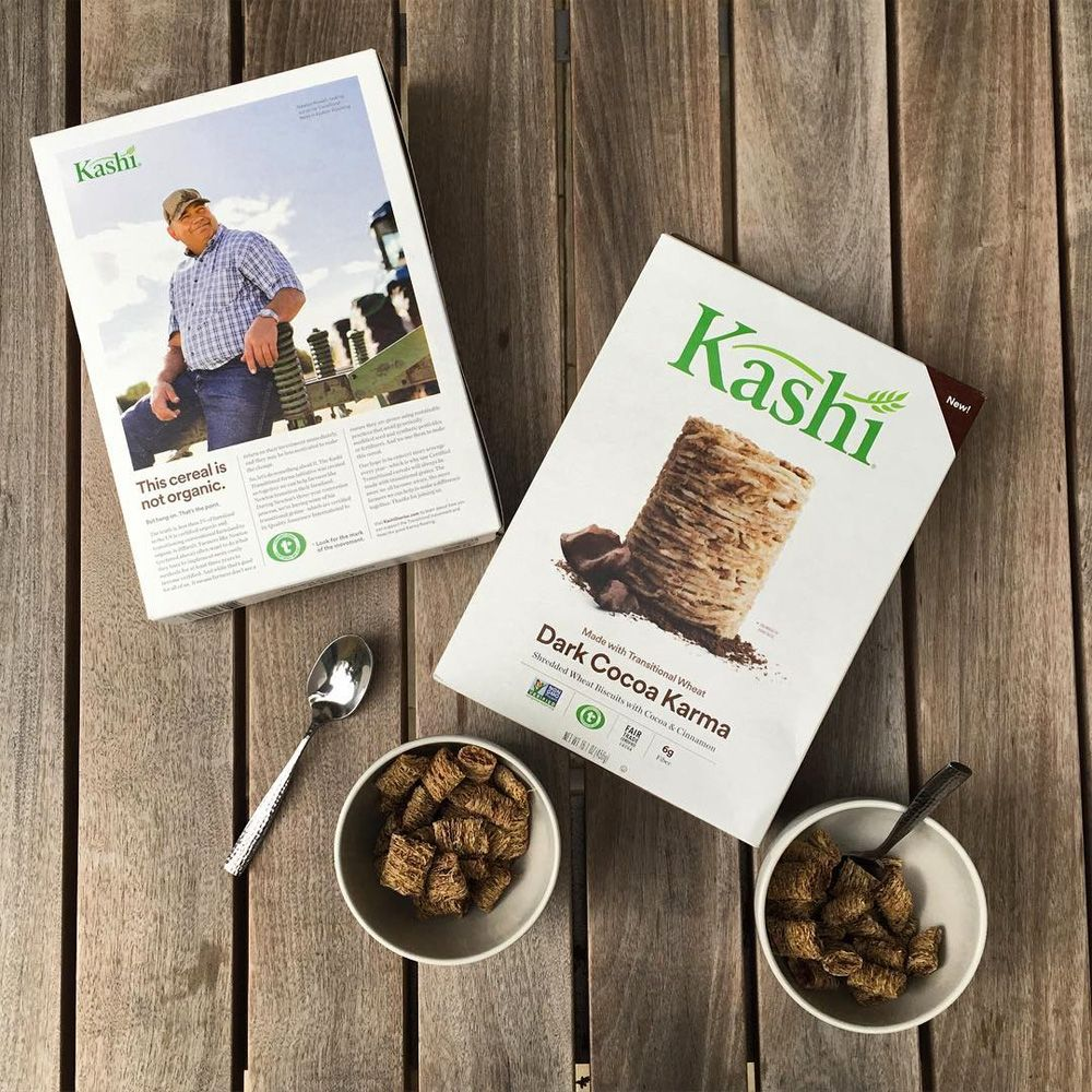 New Logo And Packaging For Kashi By Jones Knowles Ritchie New Cereal Kashi Beautiful Packaging