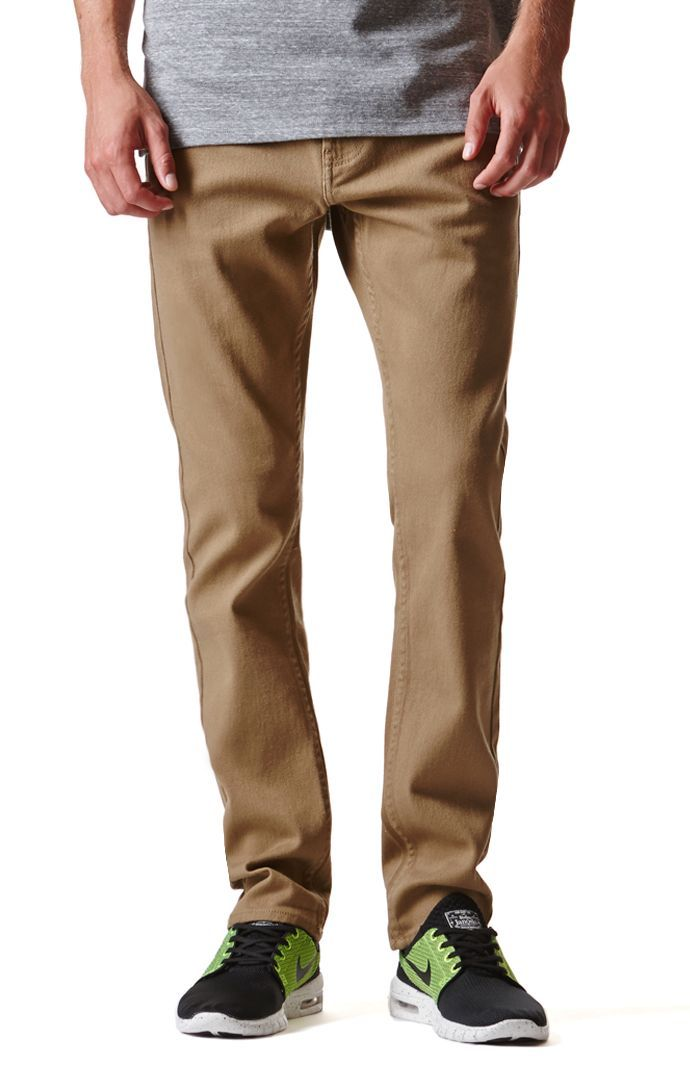 Bullhead taps into the twill trend with these comfortable men's ...