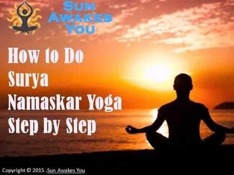 how to do surya namaskar yoga stepstep  yoga steps