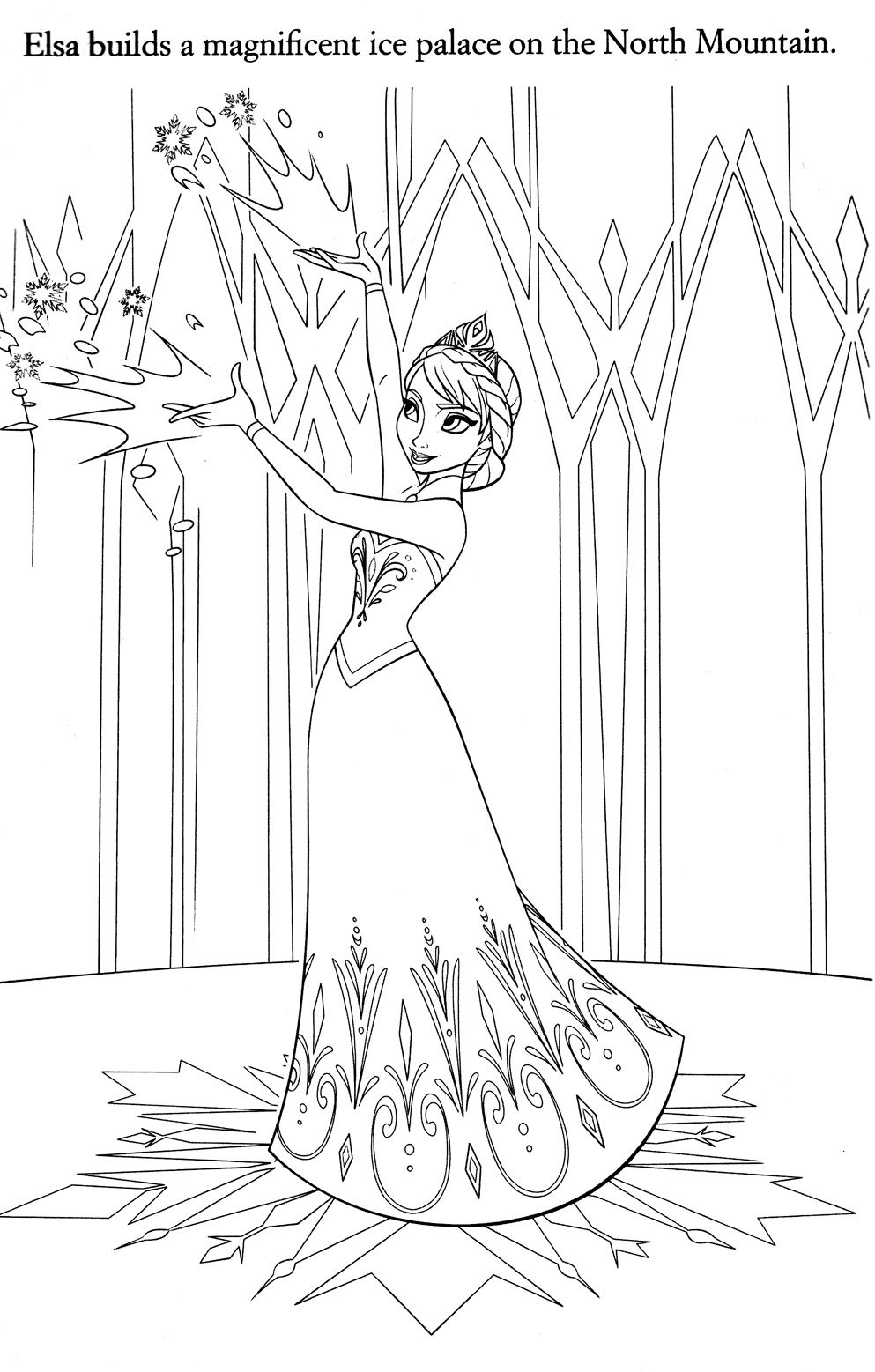Disney Coloring Pages Disney Coloring Pages Frozen Coloring