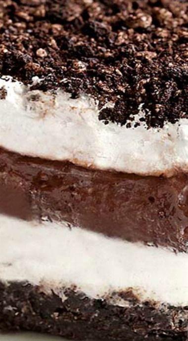 no bake chocolate oreo lasagna recipe oreo lasagna chocolate