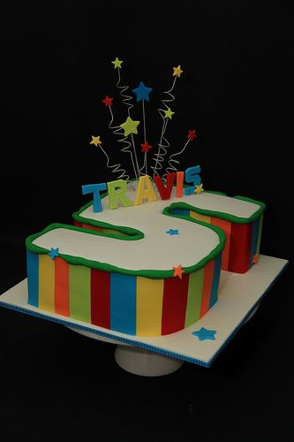 Travis 5 Rainbow Cake Rainbow Cake Cake Rainbow Birthday Cake