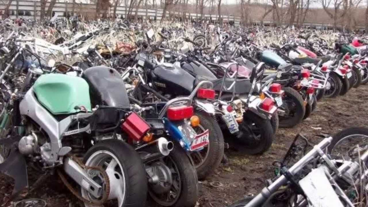 images of japanese scrap yards | Motorcycle Heaven, Junk Yards And ...
