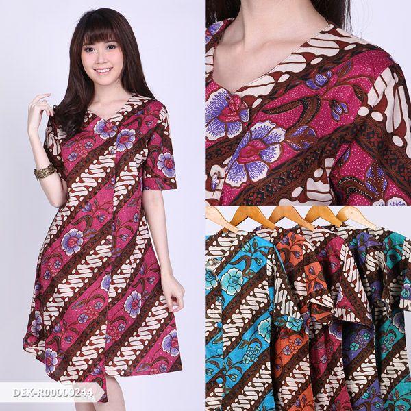 08e5c95fa5 Alchandra Batik Casual Mini Dress
