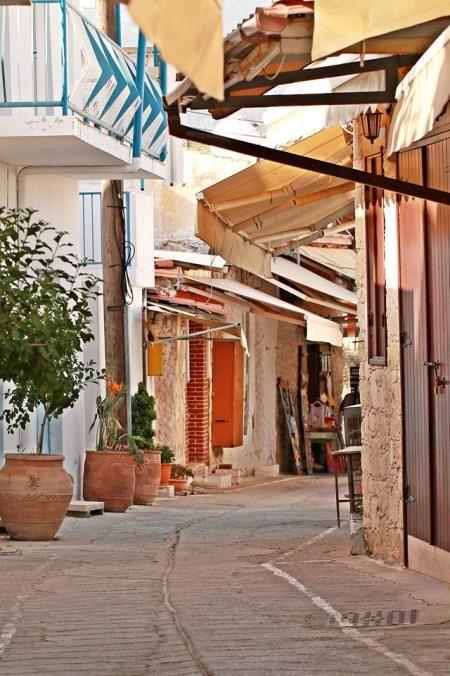 OMODOS Village. Troodos Cyprus