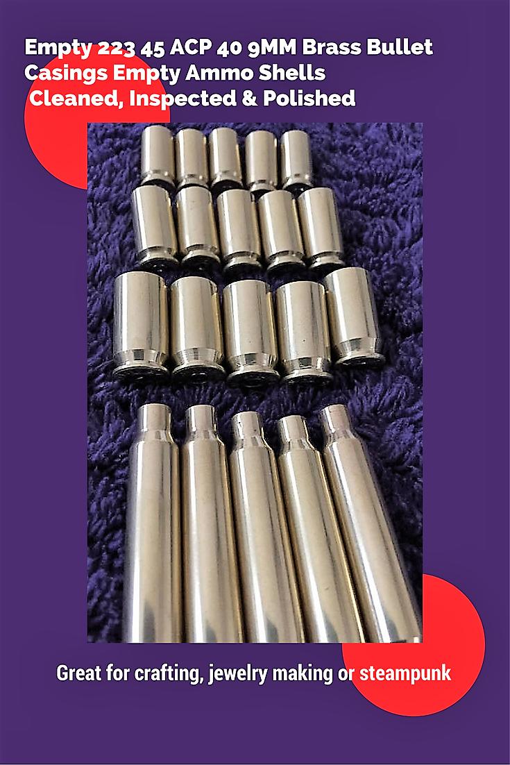Pin On Diy Empty Brass Shells Shotgun Spent Hulls Bullet Jewelry Steampunk Art Ammo Craft