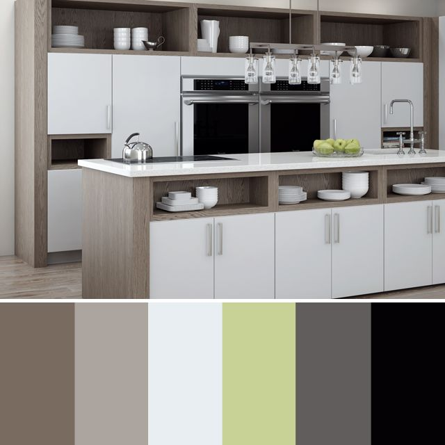 creating a color scheme for your kitchen remodel color palette for dura supreme cabinetry - Contemporary Color Scheme