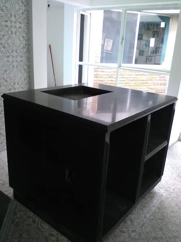Modulo D Cocina Granito Negro Módulos Para Cocina