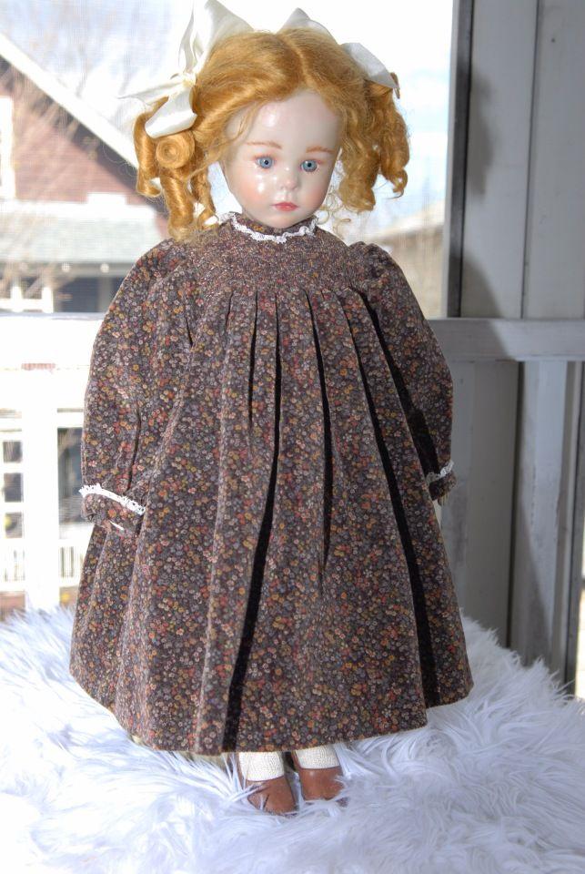 Куколка от Бриджит Деваль Baby II, фарфор покрытый воском. Скидка! / Фарфоровые куклы / Шопик. Продать купить куклу / Бэйбики. Куклы фото. Одежда для кукол