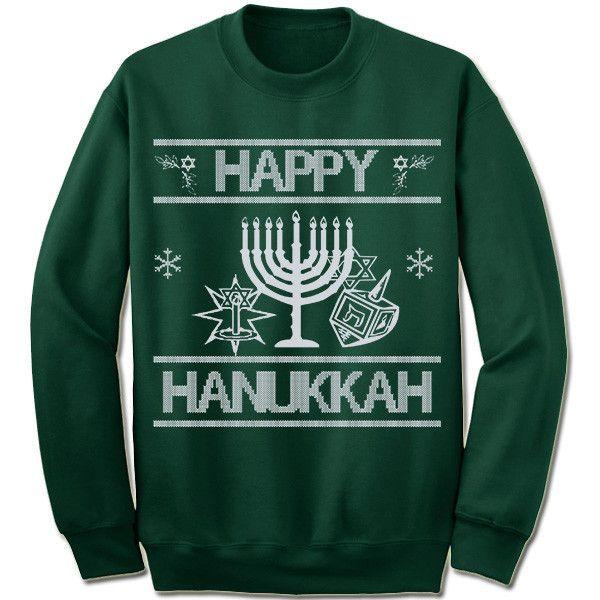 Happy Hanukkah Ugly Christmas Sweater.