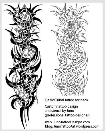 Celtic tribal tattoo for back tribal tattoo template matts celtic tribal tattoo for back tribal tattoo template pronofoot35fo Choice Image