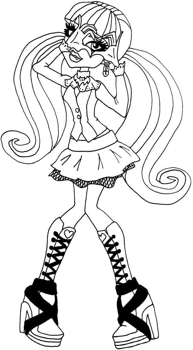 Draculaura Posing Coloring Pages Monster High Coloring Pages Kidsdrawing Free Coloring Pages Online Cartoon Coloring Pages Coloring Pages Colouring Pages