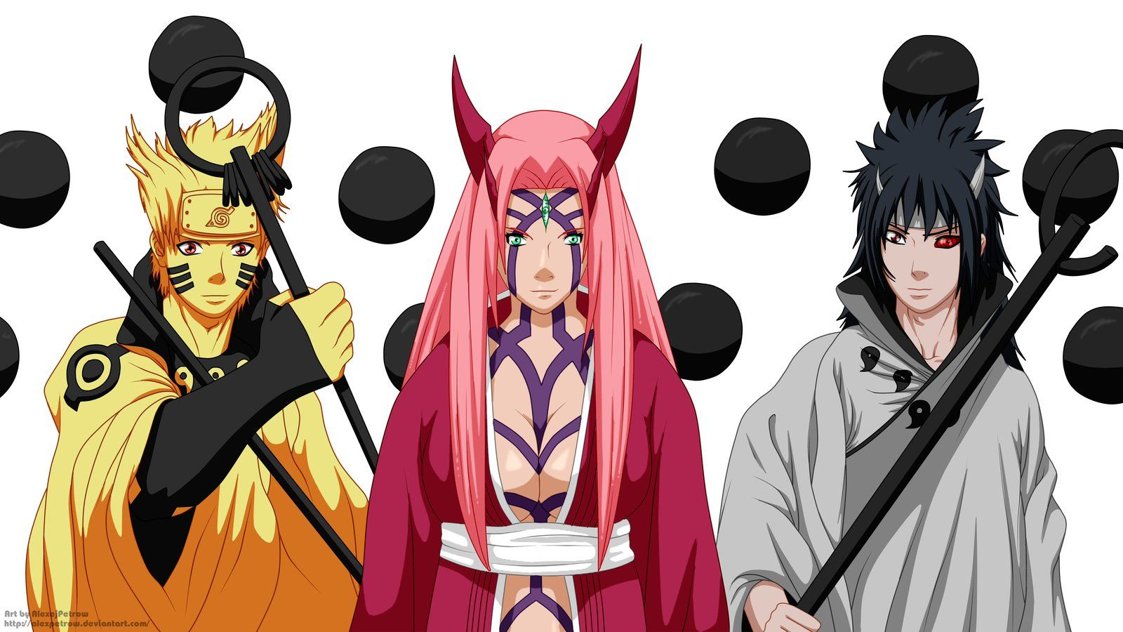 Team 7 (Naruto Sakura Sasuke) final form by AlexPetrow.deviantart ...