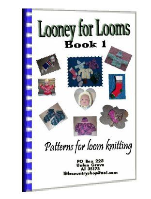 A knitting loom patterns ebook for all, many Knit loom projects