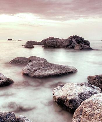 Ocean & Fog Scenic Printed Backdrop | Deals, Contests
