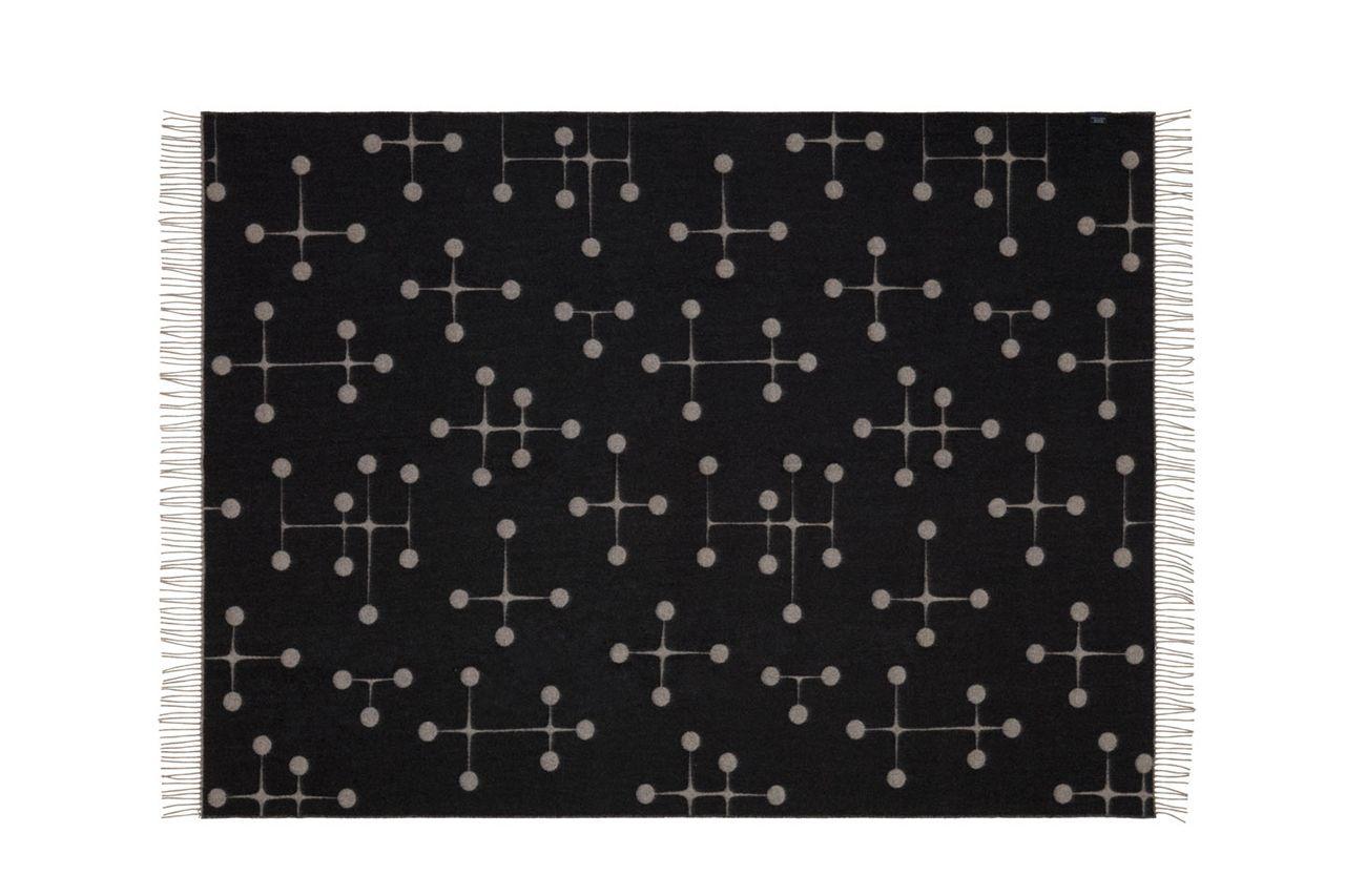 Vitra Eames Kussen : Vitra jacquard print woven merino blankets with eames gerard