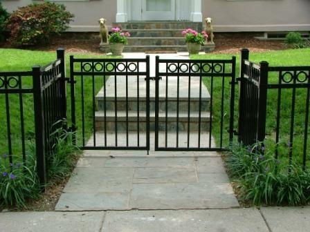 Ornamental Garden Fence Idea Fence Landscaping Fence Gate